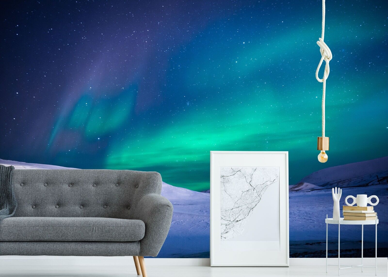 3D Arctic Starry Sky 45 Wall Paper Wall Print Decal Wall Deco Indoor Wall Murals