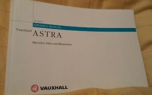 vauxhall astra g mk4 owners manual manual ts 1217 1 ebay rh ebay co uk astra g repair manual vauxhall astra g owners manual pdf