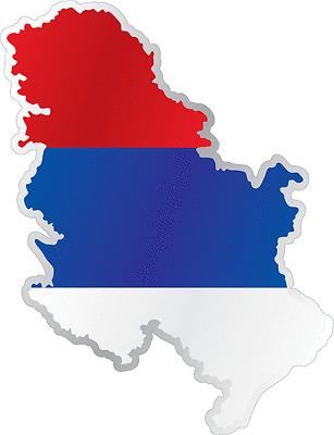 "France Country Flag Map Car Bumper Window Mirror Sticker Decal 4/""X5/"""