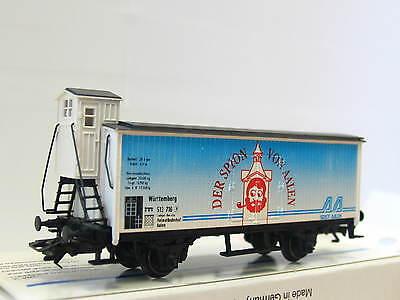 Güterwagen m Märklin H0 ged Brhs Knirps Solingen DRG OVP MR1631