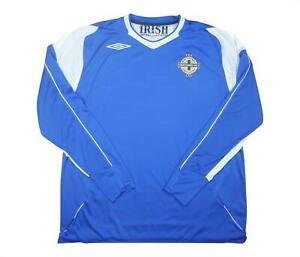 Irlanda del Nord 2006-08 ORIGINALE AWAY (eccellente) XL soccer jersey