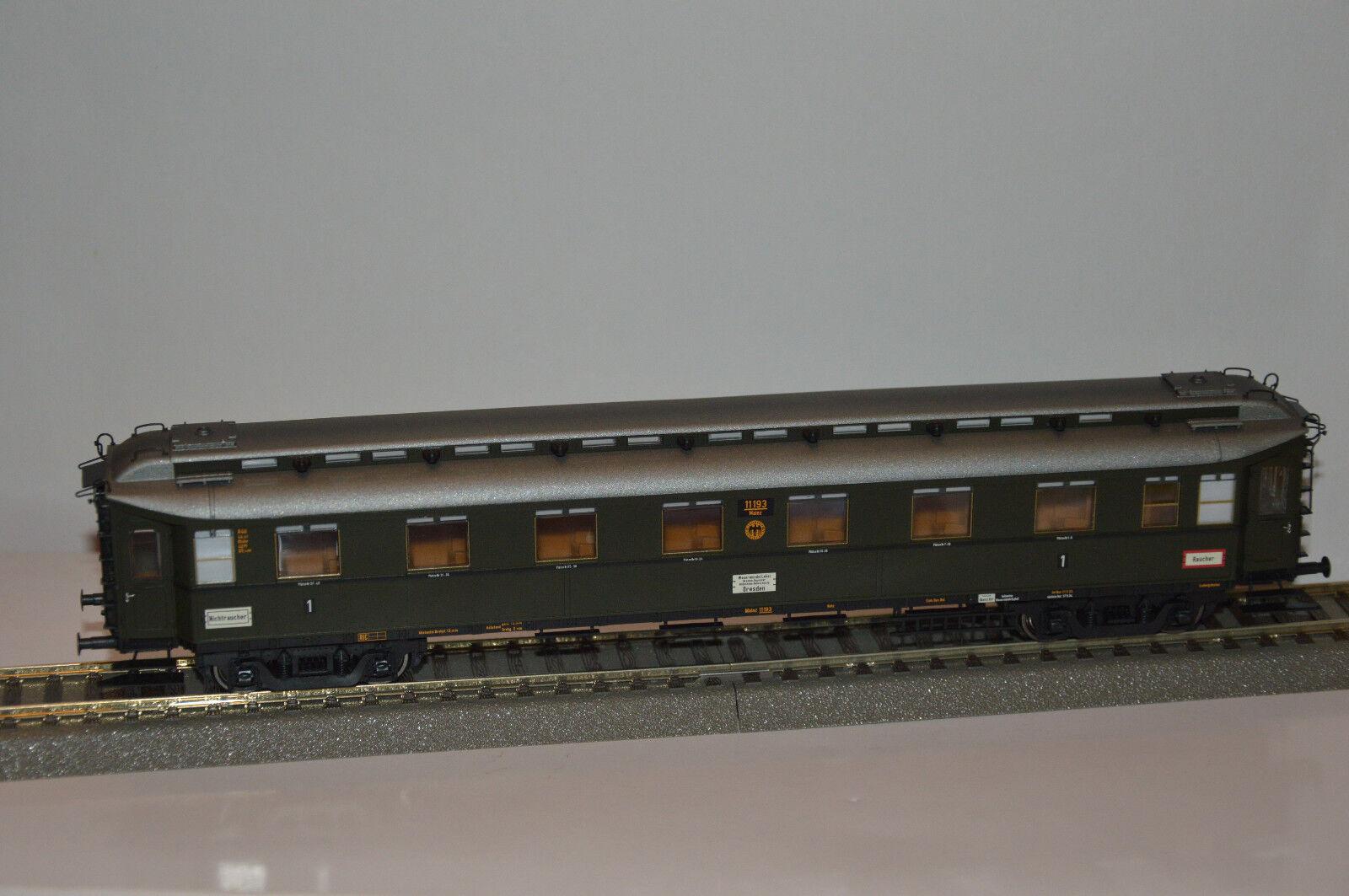Brawa 2450 D-zugwagen A4u 1kl. Mainz 11193  DRG  ep.II (H0)