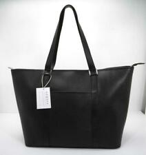 09ce395e6e10 item 3 AUGUST Large Black Saffiano Leather Tote Bag Structured Shopper Handbag  Purse -AUGUST Large Black Saffiano Leather Tote Bag Structured Shopper ...