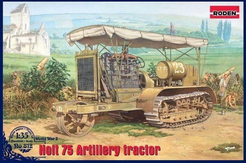 descuentos y mas Roden 1 35 Holt 75 Artiglieria Trattore Trattore Trattore  812  Entrega directa y rápida de fábrica