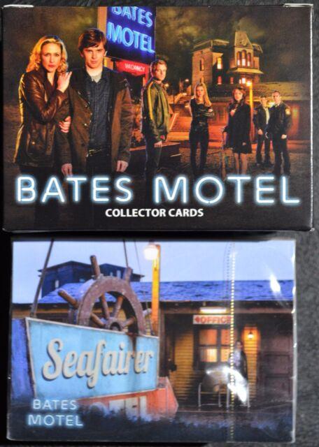 Breygent Bates Motel Season 1 Base Set 72 Trading Cards Box Wrapper