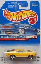 1998 Hot Wheels First Edition Mustang Mach 1 29/40 (Yellow Version)