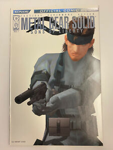 IDW: METAL GEAR SOLID: SONS OF LIBERTY #1: NM CONDITION: CGI VARIANT COVER