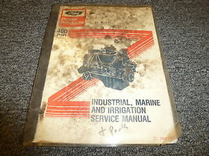 ford 460 engine manual