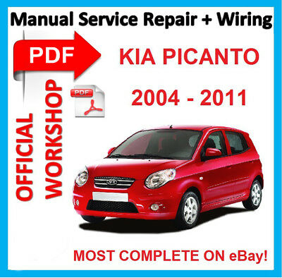 official workshop manual service repair for kia picanto sa 2004 rh ebay com kia picanto repair manual pdf download kia picanto service_repair_manual_download.pdf