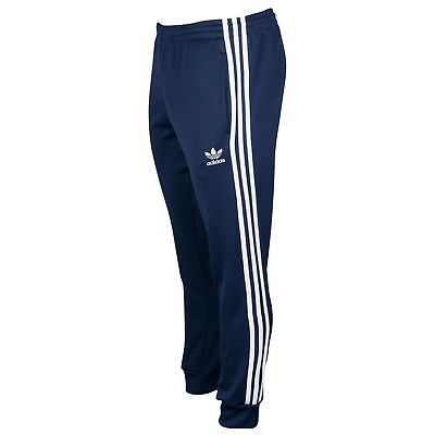 Adidas Hoodie Tapered Sweatpant Outfit Set Mens 2XL Blue