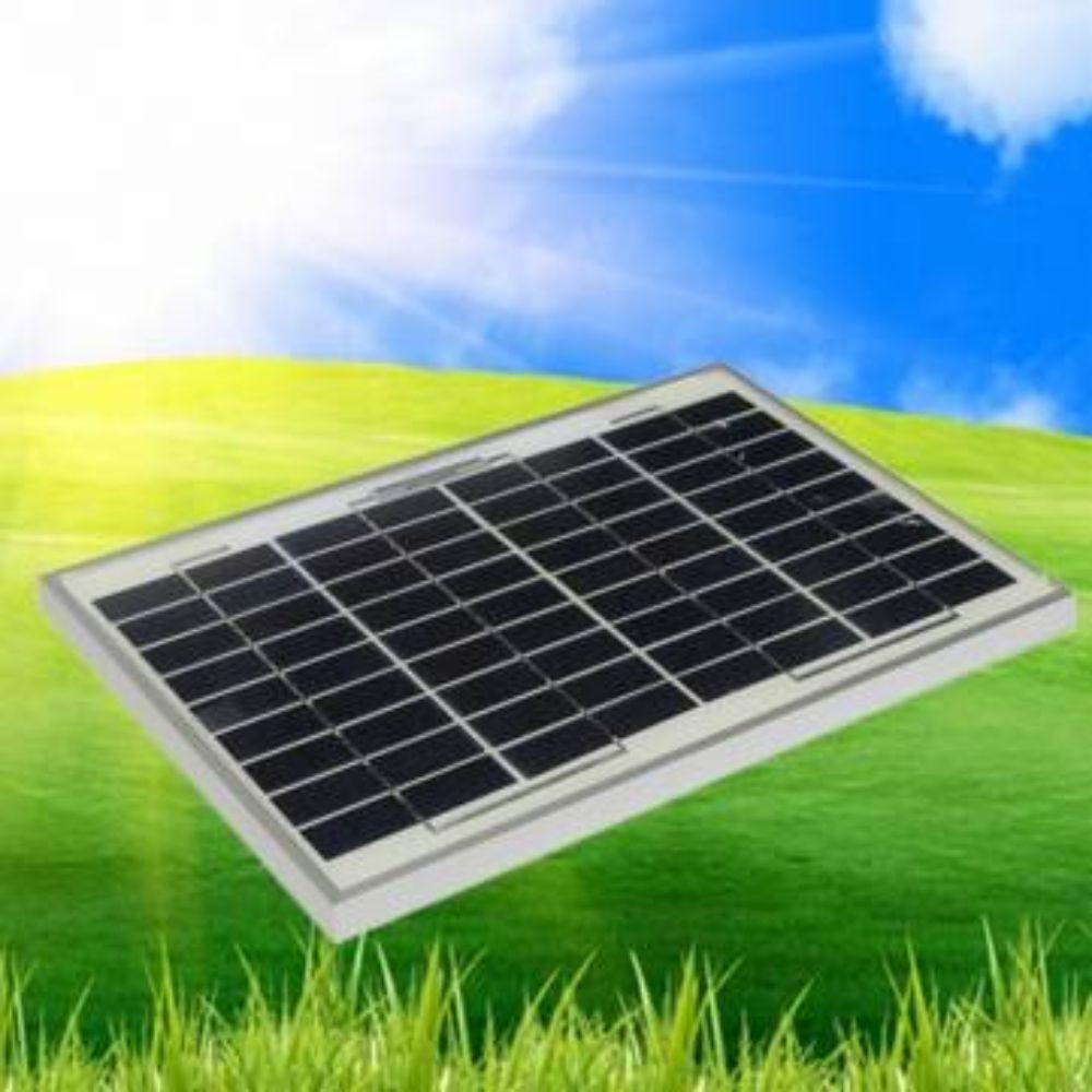 Policristallino poli caricabatteria modulo del pannello solare 10w watt 12v