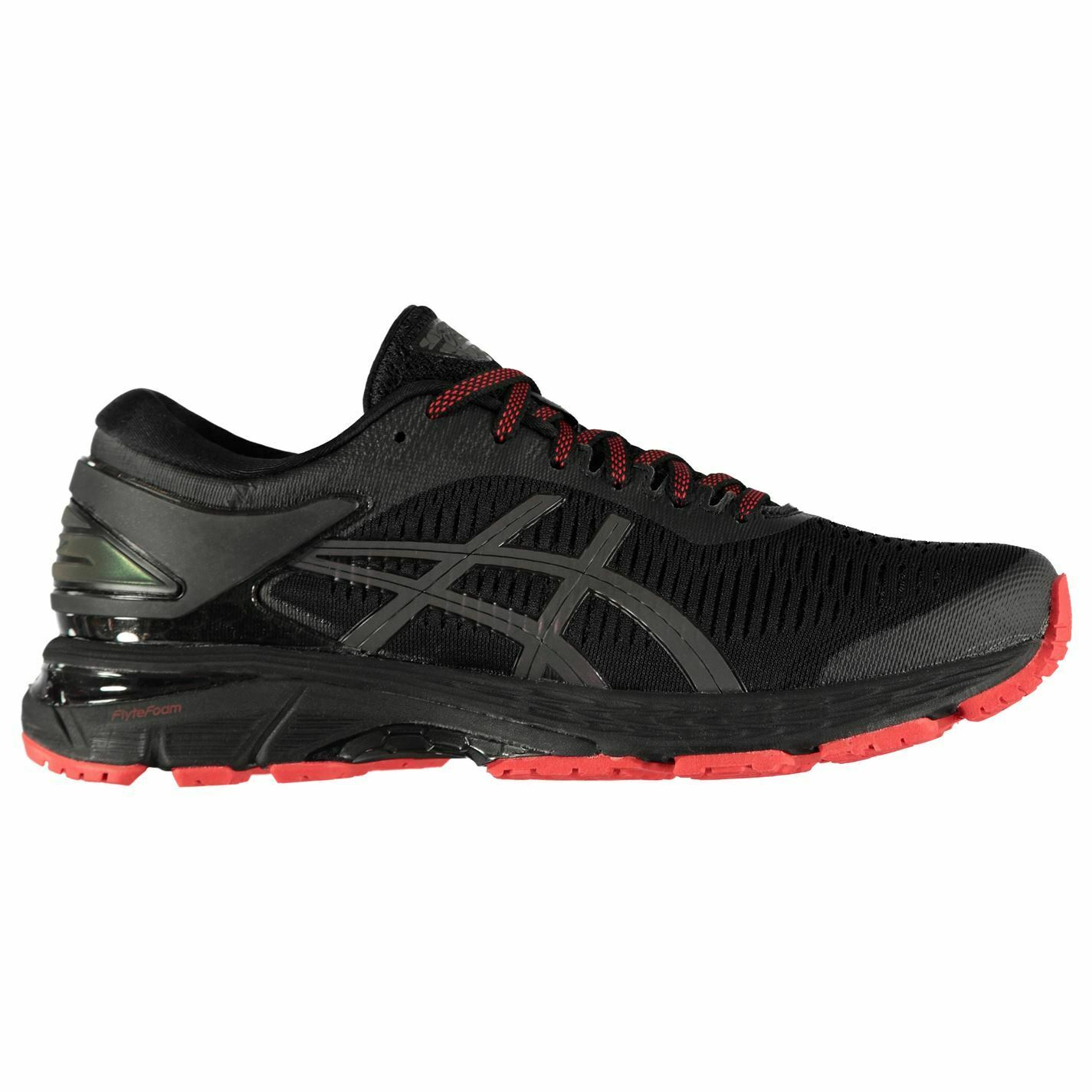 Asics Mens Gel Kayano 25 Lite Show Running shoes Road Lace Up Mesh Upper