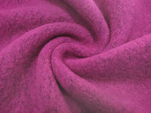 Sustancia residual 62x140cm hervidas lana Koch lana WALKLODEN uni Pink melange vestido primero