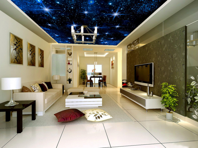3D Night Starlight 8 Ceiling WallPaper Murals Wall Print Decal Deco AJ WALLPAPER