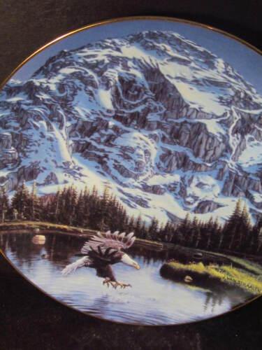Danbury Mint Spirits of the Wild PORTRAIT OF MAJESTY Eagle Bear Ram Ltd Ed Plate