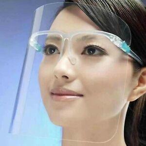 Schutzvisier-mit-Brillengestell-Gesichtsschutz-fuer-Brillentraeger-Gesichtsschutz
