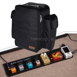 joyo pc 1 foldable guitar effect pedal board carpet pedalboard with bag j3p3 ebay. Black Bedroom Furniture Sets. Home Design Ideas
