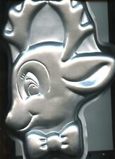 Rudy Reindeer Cake Pan from Wilson #2105-180 - 2000