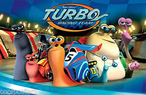 Dreamworks turbo movie racing team poster new 22x34 fast free image is loading dreamworks turbo movie racing team poster new 22x34 voltagebd Gallery