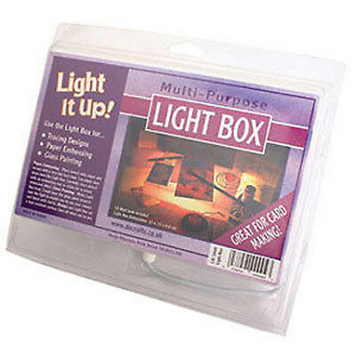 MULTI PURPOSE CRAFT TILTED LIGHT IT UP BOX TRACING EMBOSSING DRAWING CARD MAKING