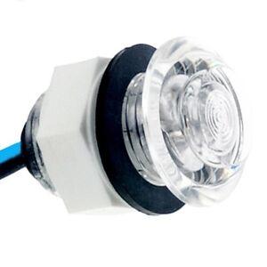 Faretto a led luce bianca marino segnapassi per uso esteno for Segnapassi a led