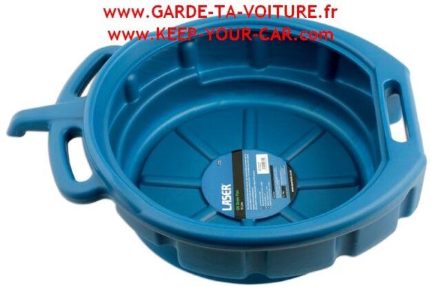 LASER 4705 Cuvette de vidange 16 litre / Oil drain pan / Ölablasswanne