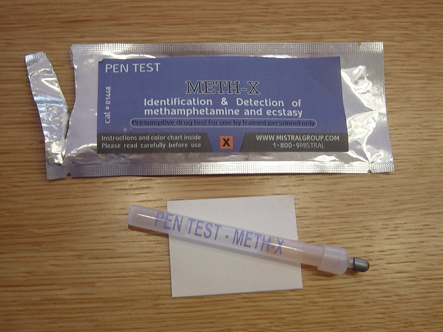 5 Mistral Meth Methamphetamine  Drug Detection Test Identification Residue Pens  selling well all over the world