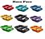 """miniature 1 -  RaceFace Chester Composite Platform Pedals 9/16"""" -1 Pair~Multi Color"""