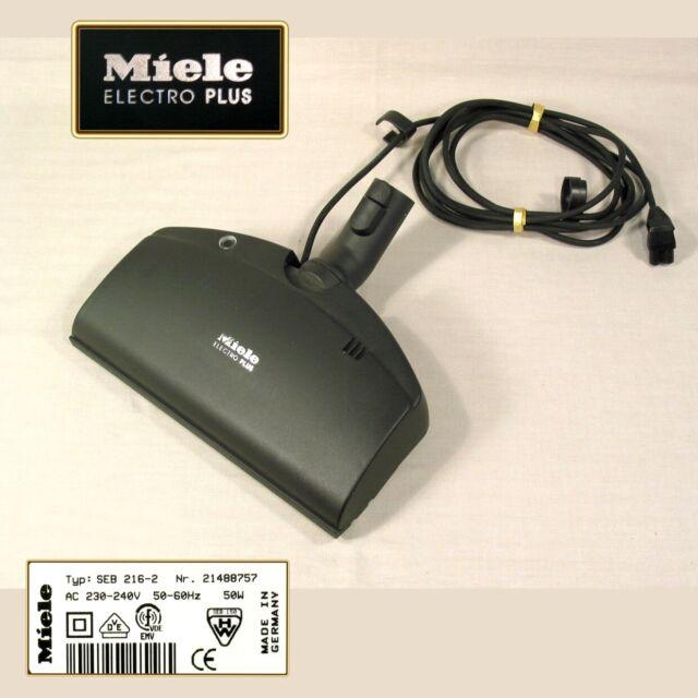 MIELE Elektrobürste SEB 216 2 ELECTRO PLUS und Staubsauger Zubehör