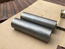 3 Round Bar Steel Lathe Machining Solid Stock Blacksmithing 10 Long 2 Pc