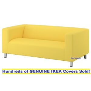 Incredible Details About Ikea Klippan Loveseat 2 Seat Sofa Cover Slipcover Vissle Yellow New Sealed Short Links Chair Design For Home Short Linksinfo