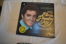 the ELVIS PRESLEY STORY RCA box set a DML5-0263 NEAR MINT