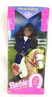 1997 Barbie Doll African American Horse Riding Barbie Vintage Mattel 19269