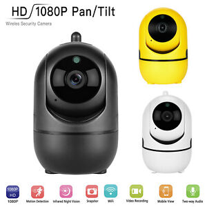 Details about 1080P Pan Tilt Wireless WIFI IP Camera Auto Tracking Home  Security Network Cam