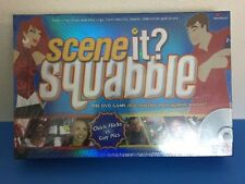 Scene It? Squabble DVD Game- Great Holiday Party Game! New