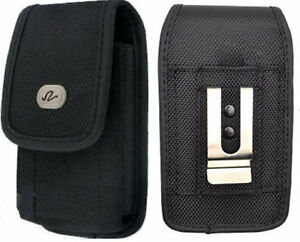 Large-Rugged-Canvas-Case-Holster-fits-w-Lifeproof-on-for-Motorola-Phones