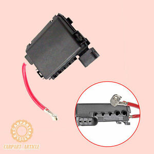 fuse box holder battery terminal w wiring for vw jetta bora golfimage is loading fuse box holder battery terminal w wiring for