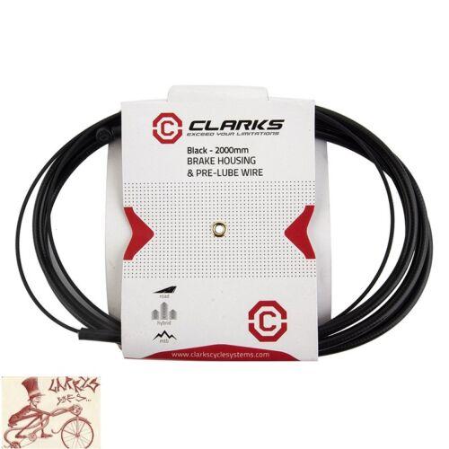 CLARKS TEFLON MTB 1.5mm BLACK BRAKE CABLE