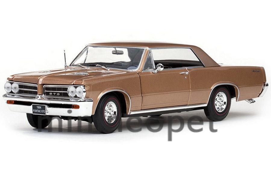 1 18 Sunstar 1965 1965 1965 Pontiac GTO SADDLE BRONZE 2537a8