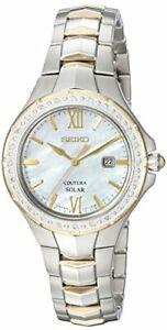 Seiko-Women-039-s-039-COUTURA-039-Quartz-Stainless-Steel-Casual-Watch-SUT240