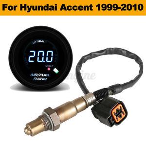 52mm Auto Car Air Fuel Ratio Gauge&O2 Oxygen Sensor For Hyundai Accent