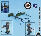 MG 42 + ACCESORIOS *HAY 5 NUEVAS* ALEMANIA GUERA MUNDIAL GERMAN WW2 PLAYMOBIL