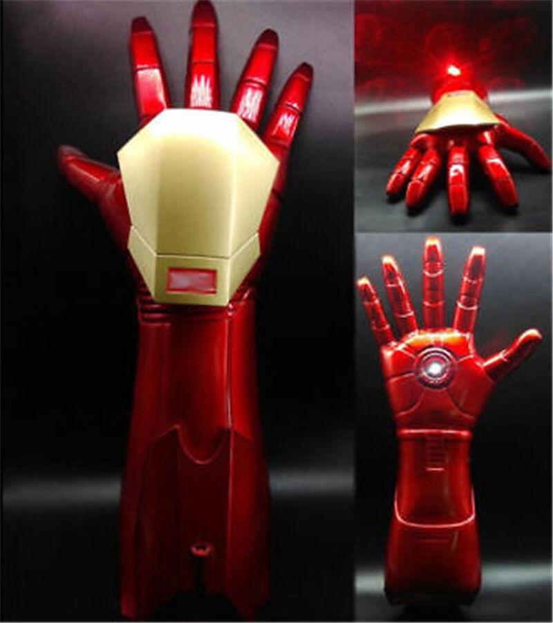 the avengers  iron man 1  1 stark aktualisierter handschuh led - licht mit laser cosplay