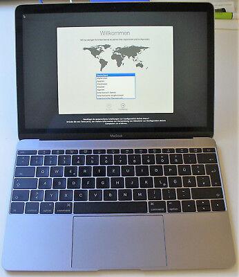 "Apple Macbook Early 2016 12"" Retina Display Core M5 1,2 Ghz, 500 Gb Ssd, 8 Gb"