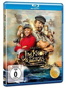 Jim Bottone & Lukas il Macchinista [Blu-Ray/Nuovo/Scatola Originale] Real trasposizione sullo schermo N. M. fine