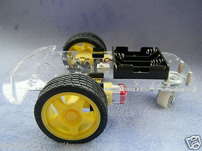 2WD Motor Smart Robot Car Chassis Kit For Arduino with Speed Encoder