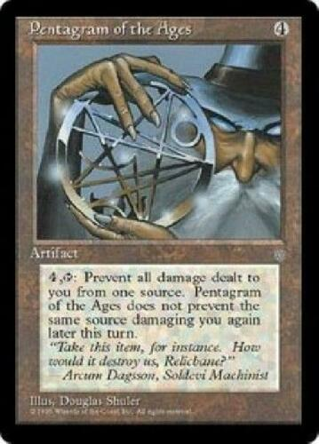 4x Pentagram of the Ages NM MTG Ice Age IA Magic Gathering