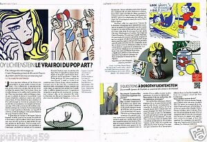 Coupure-de-Presse-Clipping-2013-2-pages-Roy-Lichtenstein