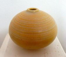 Otto Heino Yellow Porcelain Bottle 2003
