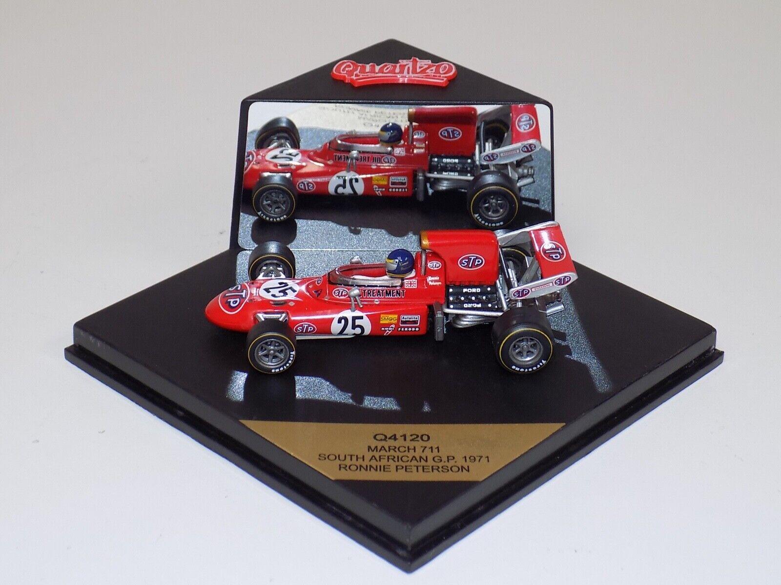 1 43 Quartzo F1 March 711  Car South African  GP R.Peterson Q4120